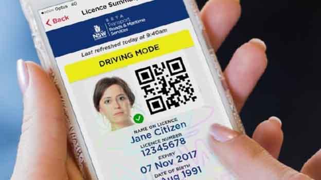 NSW digital licenses